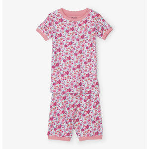 Hatley - Summer Garden Organic Cotton Short Pajama Set Pajamas Hatley