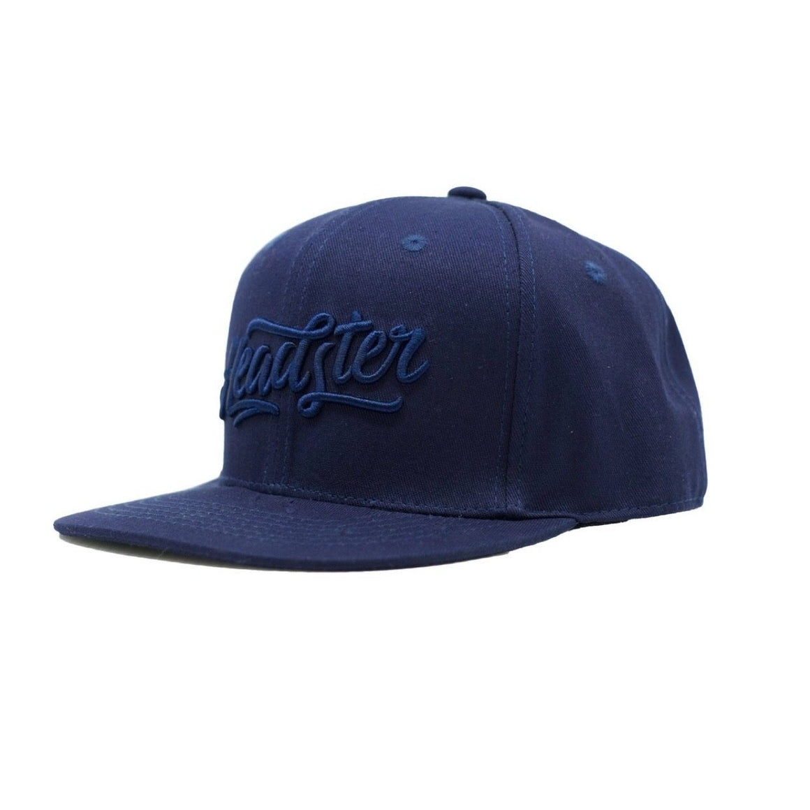 Headster - Everyday Navy Snapback Hats Headster