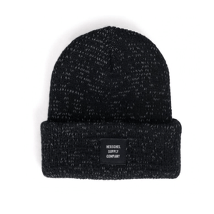 Herschel - Abbott Youth Beanie Hat - Black Hats Herschel