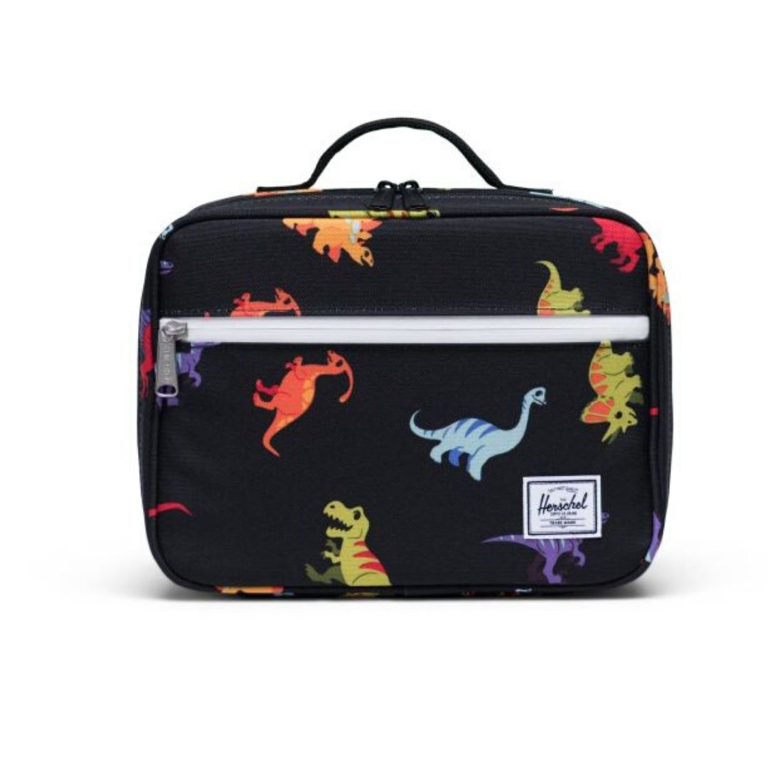 Herschel Pop Quiz Kids Lunch Box - Dino Black Lunch Box Herschel