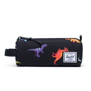 Herschel Settlement Case - Dinosaurs Black Pencil Case Herschel