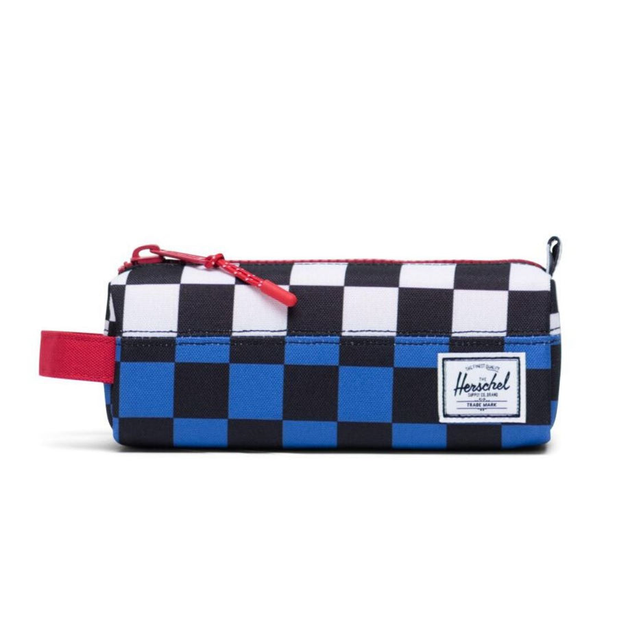 Herschel Settlement Case - Multi Check Amparo Blue/Red/Black White Checker Pencil Case Herschel
