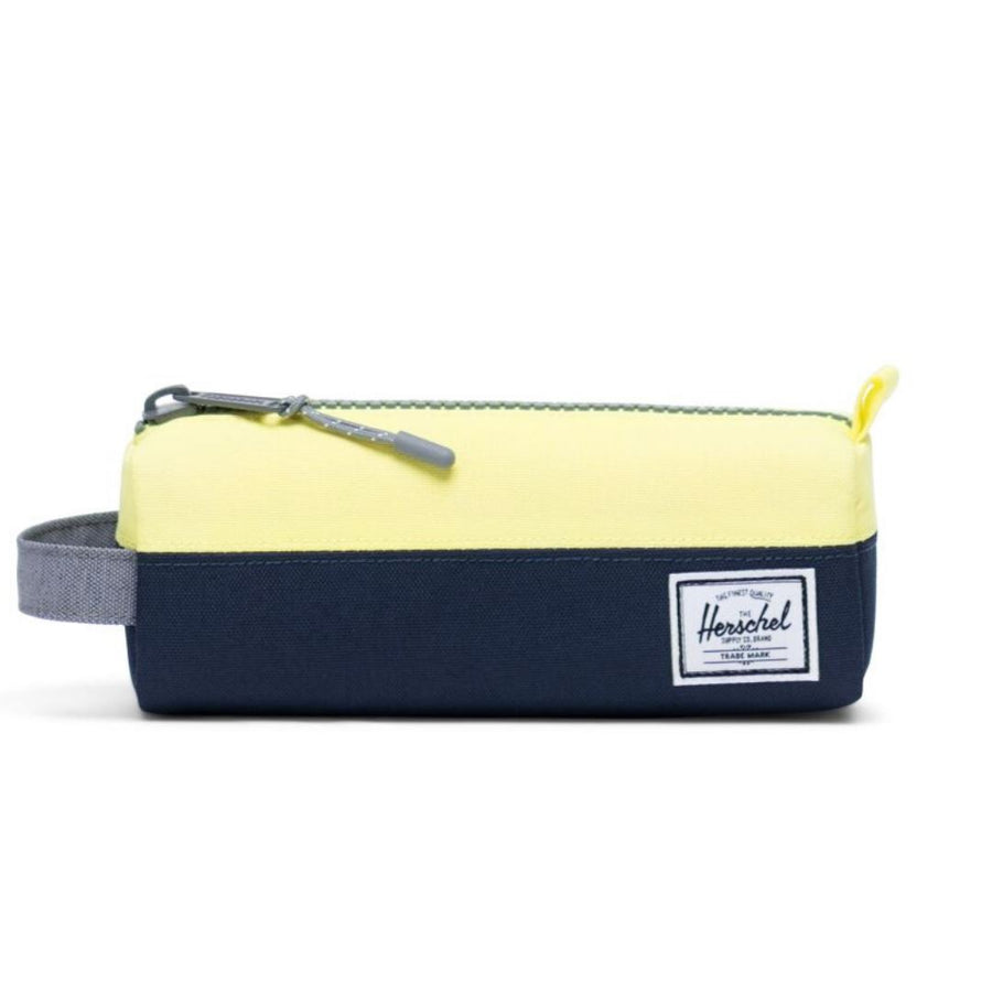Herschel Settlement Case - Peacoat/Highlight/Mid Grey Crosshatch Pencil Case Herschel