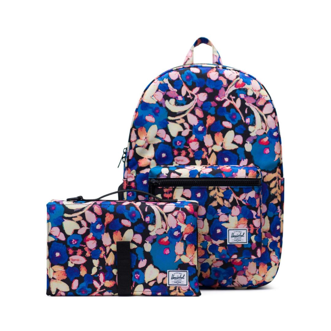 Herschel Settlement Sprout Backpack - Painted Floral Diaper Bag Herschel