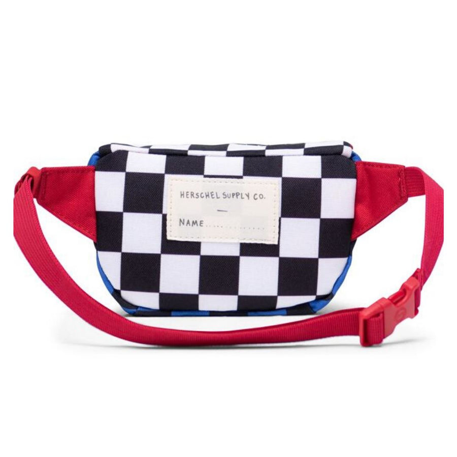 Herschel Twelve Kids Hip Pack - Multi Check Amparo Blue/Red/Black White Checker Hip Pack Herschel