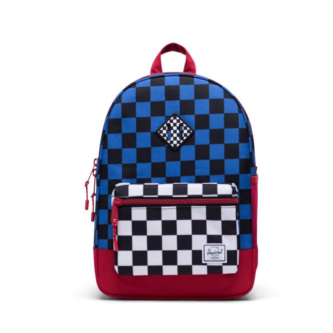 Herschel Youth 16L Backpack - Multi Check Amparo Blue/Red/Black White Checker Backpack Herschel