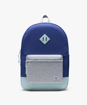 Herschel Youth 16L Backpack - Orient Blue/Light Grey Crosshatch/Eggshell Blue Backpack Herschel