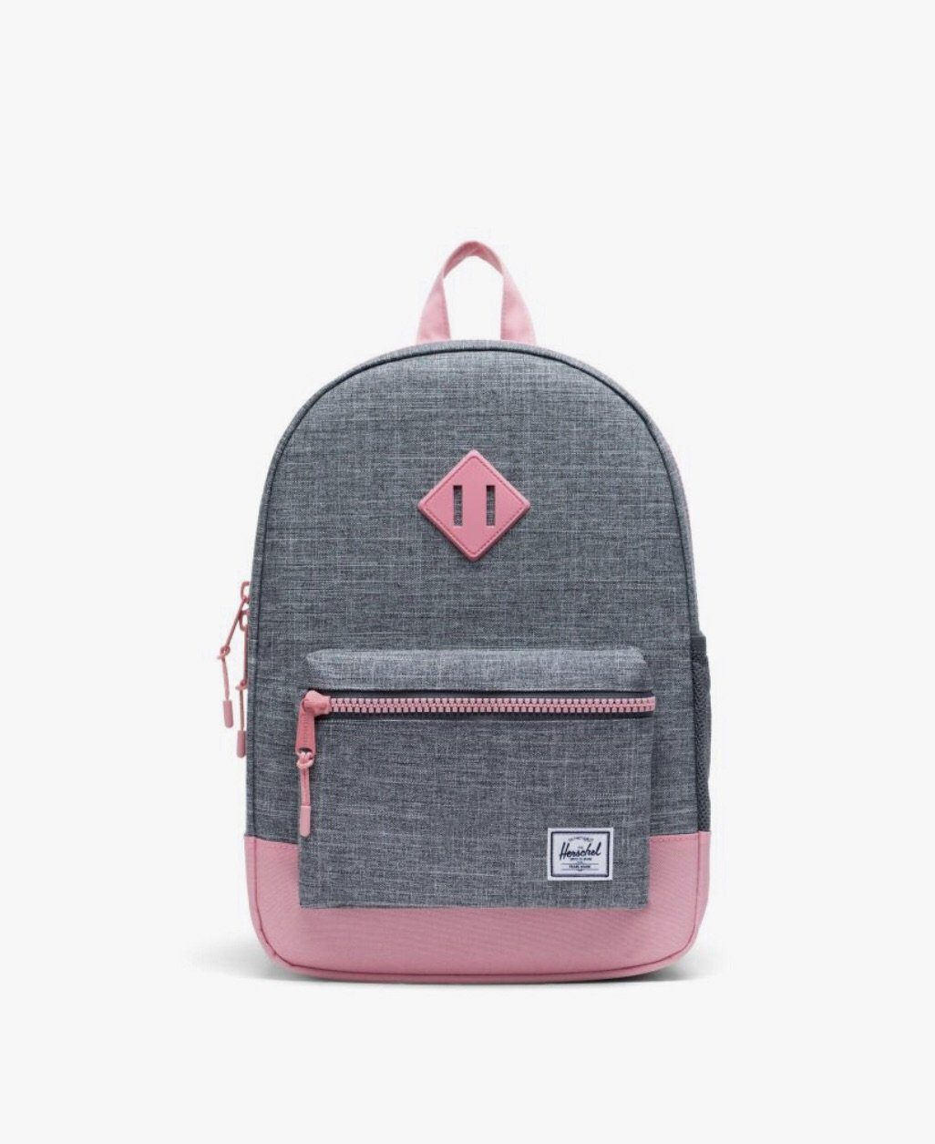 Herschel Youth 16L Backpack - Raven Crosshatch/Flamingo Pink Backpack Herschel