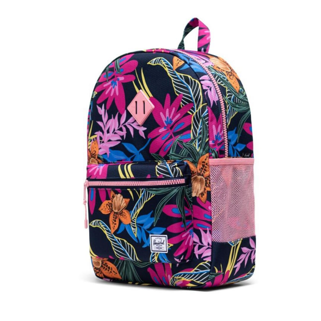 Herschel Youth XL 22L Backpack - Jungle Floral Peacoat Peony Backpack Herschel