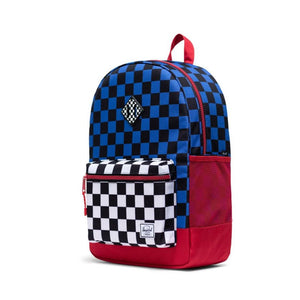 Herschel Youth XL 22L Backpack - Multi Check Amparo Blue/Red/Black White Checker Backpack Herschel
