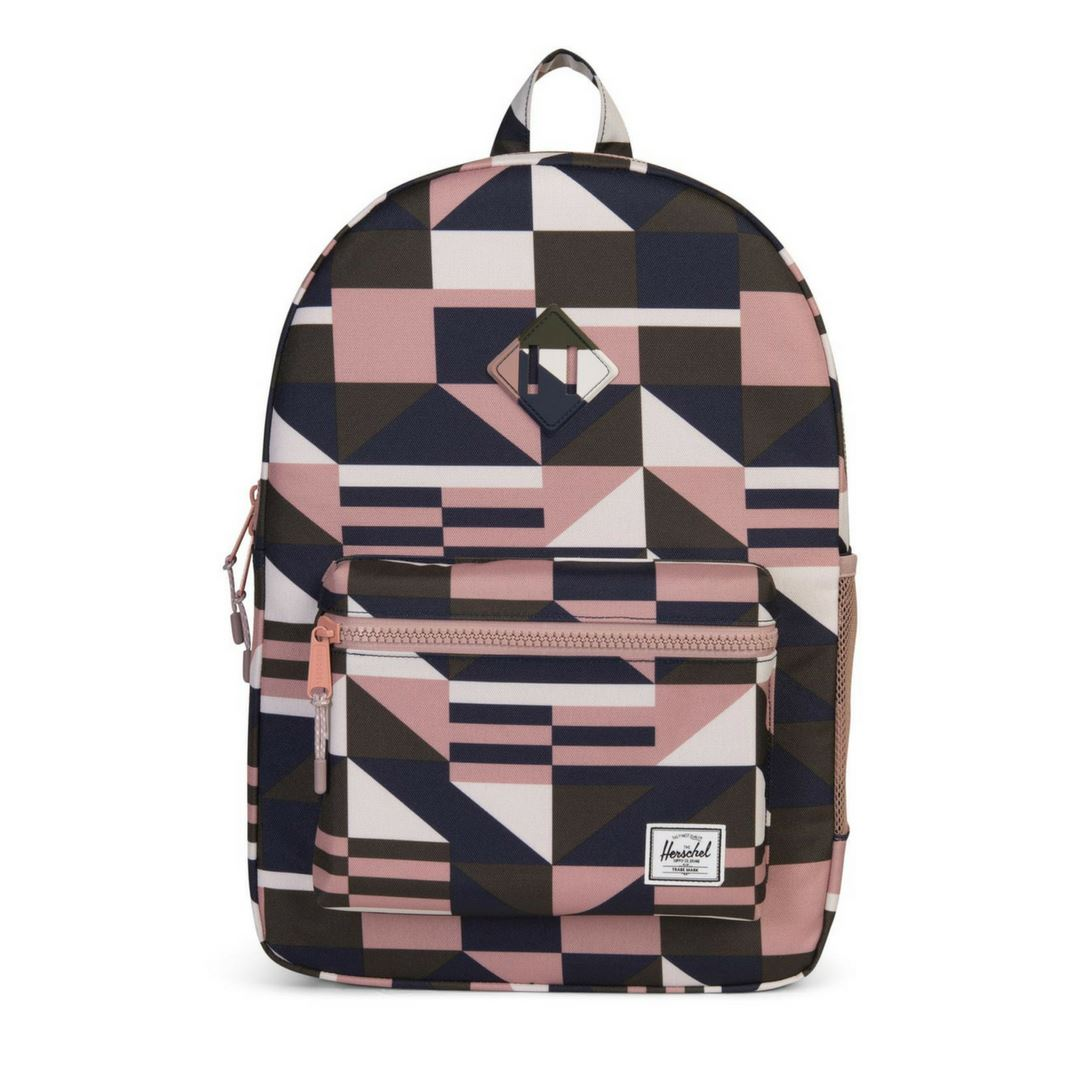 Herschel Youth XL Heritage 20 L Backpack - Geo/ Rose Backpack Herschel
