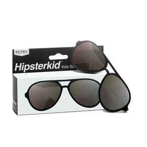 Hipsterkids - Baby/Toddler Classics Aviator Opticals - Black Sunglasses Fctry