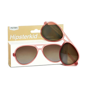 Hipsterkids - Baby/Toddler Golds Aviator Opticals - Rosé Sunglasses Fctry