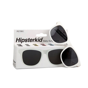 Hipsterkids - Baby/Toddler Opticals - White Sunglasses Fctry