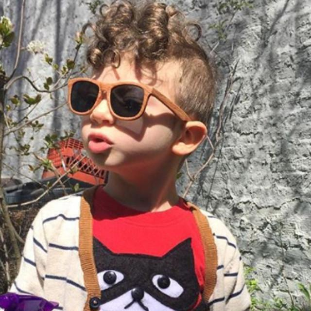 Hipsterkids - Baby/Toddler Opticals - Wood Sunglasses Fctry