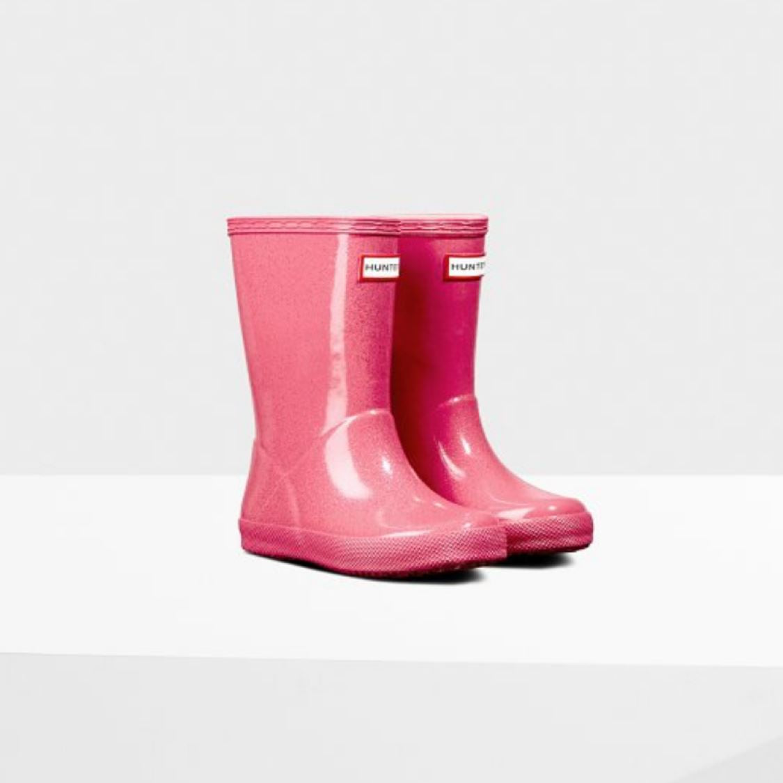 Hunter Original Kids First Classic Starcloud Rain Boots: Arcade Pink Rain Boots Hunter