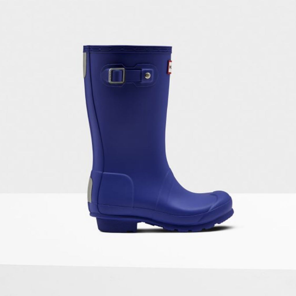 Hunter Original Kids Rain Boots: Electric Blue Rain Boots Hunter
