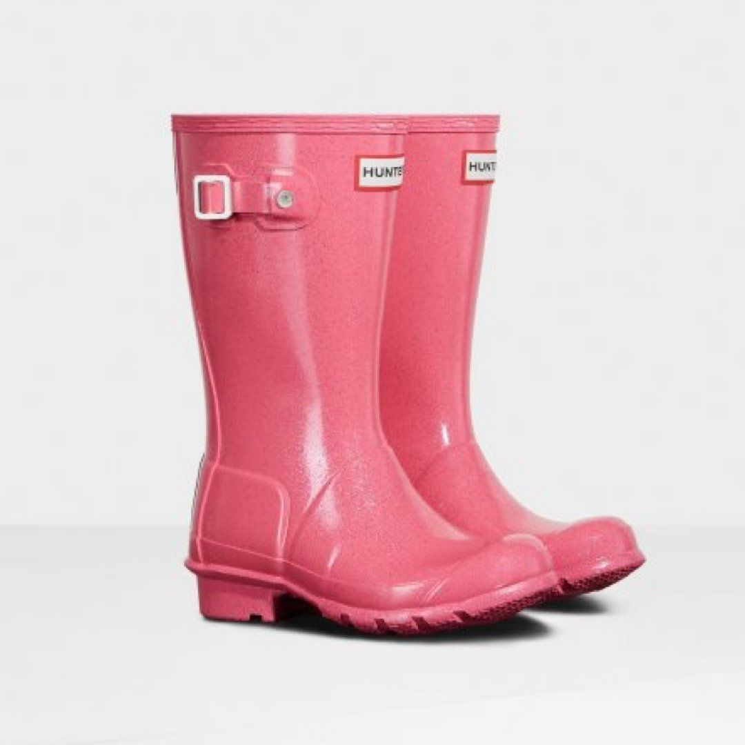 Hunter Original Kids Rain Boots: Starcloud Rain Boots Hunter