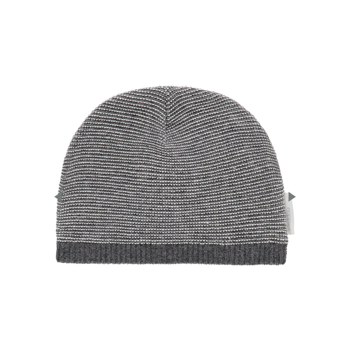 94519 - Noppies - Quebec Organic Unisex Baby Hat - Grey Melange