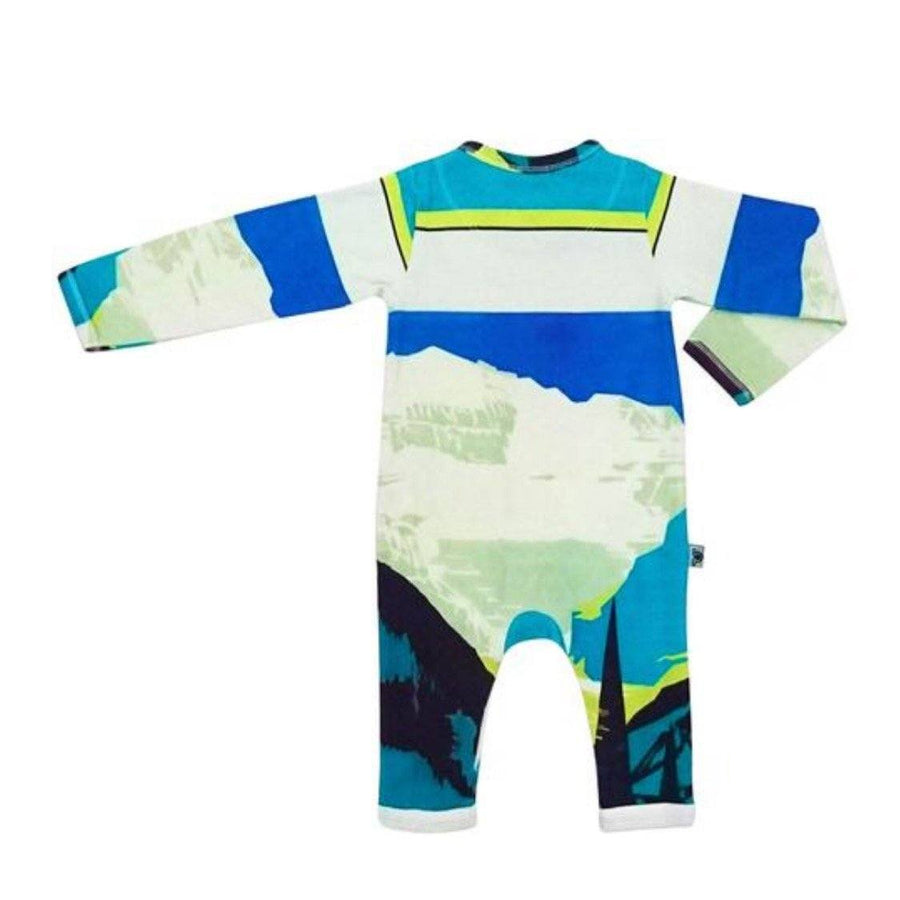 Inchworm Alley - Lake Louise Unisex Baby Romper Romper Inchworm Alley