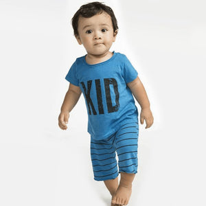Joah Love - Cancun Short Sleeve Kids Tee and Knit Shorts Set Short Sleeve Shirts Joah Love