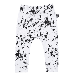 Kipp Kids - White and Black Paint Splash Pants Pants Kipp Kids
