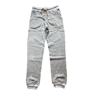 KOD7575 Vintage Havana - Girls Burnout Jogger with Rib Detail - Grey Pants Vintage Havana
