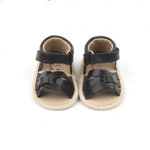 Little Bipsy - Baby and Kids Ollie Sandals - Black Sandals Little Bipsy