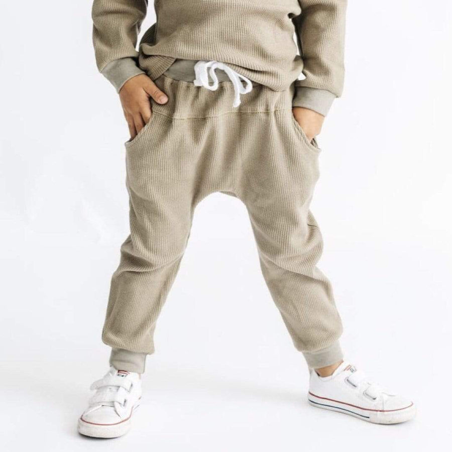 Little Bipsy - Unisex Moss Thermal Joggers Pants Little Bipsy