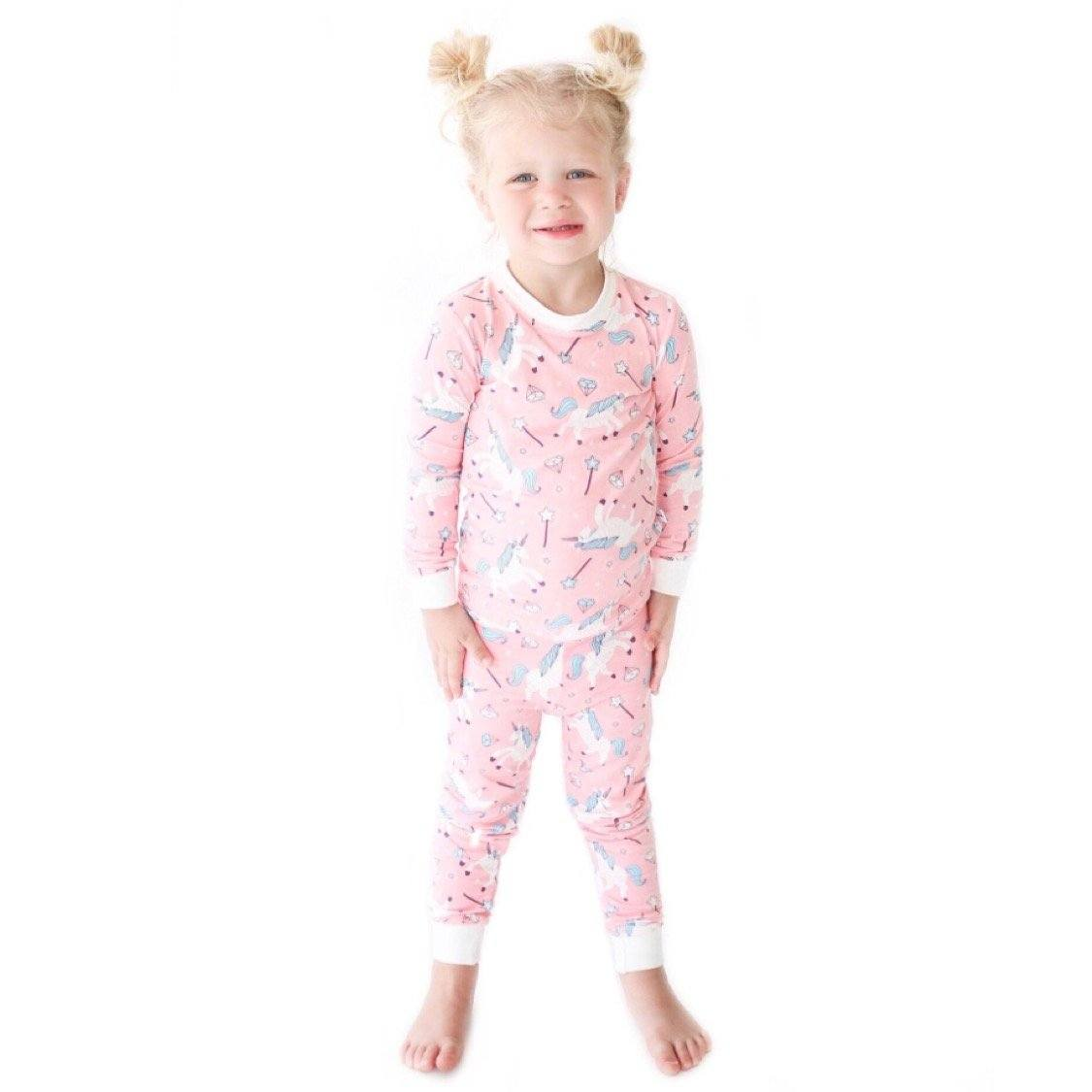 Little Sleepies - Unicorns Baby & Toddler Two-Piece Bamboo Pajama Set Pajamas Little Sleepies