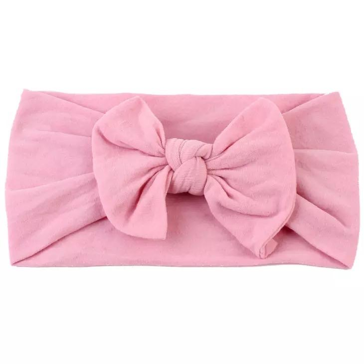 Lola & Taylor Dusty Rose Top Knot Headband Headband Lola & Taylor