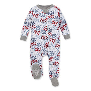 LY26546 - Burt's Bee Baby Starry Night Sky Organic Baby Sleep & Play Pajamas Pajamas Burt's Bees Baby