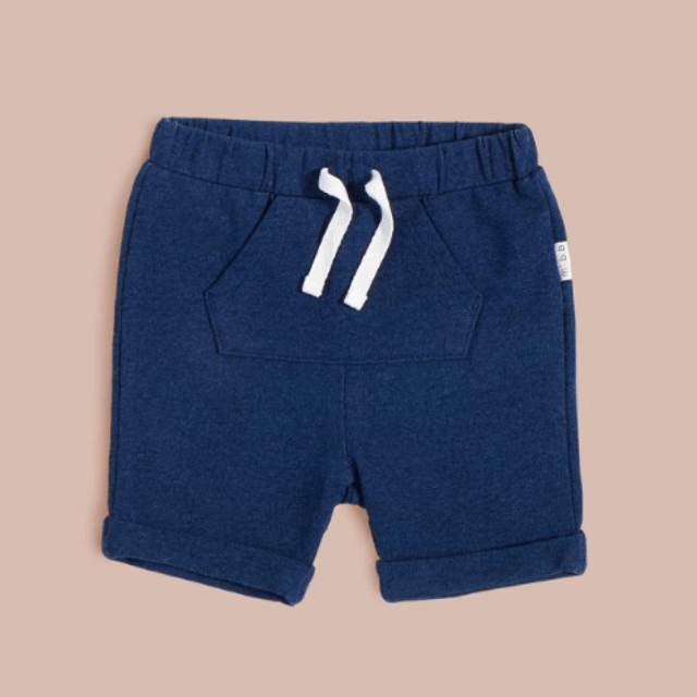 Miles Baby - Blue Shorts (0-3 Months) Shorts Miles Baby