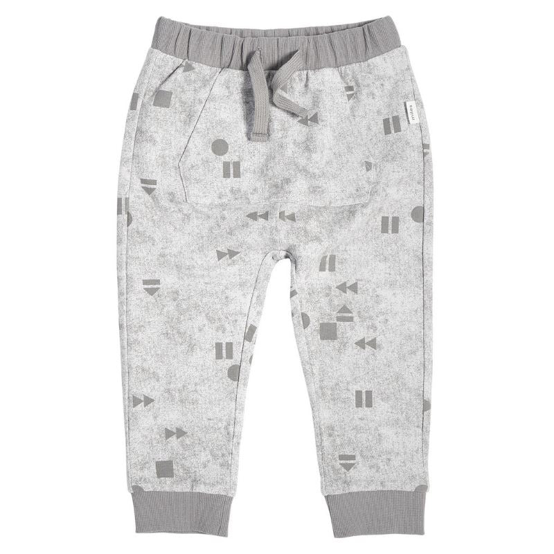 "MILES BABY - LIGHT GREY ""PLAY/REPLAY"" JOGGER Pants Miles Baby"
