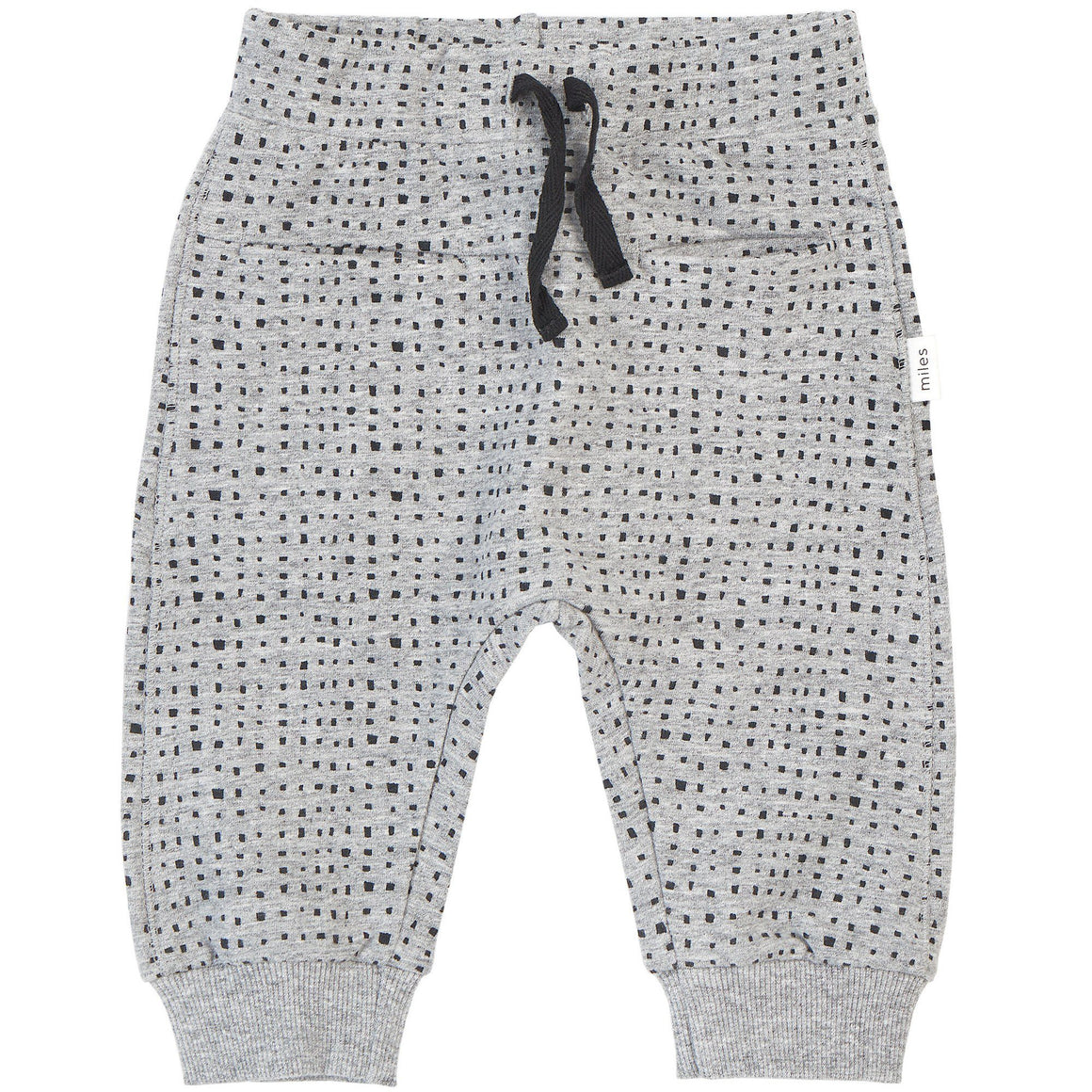 Miles Basic Heather Grey Splash Jogger Pants Miles Baby