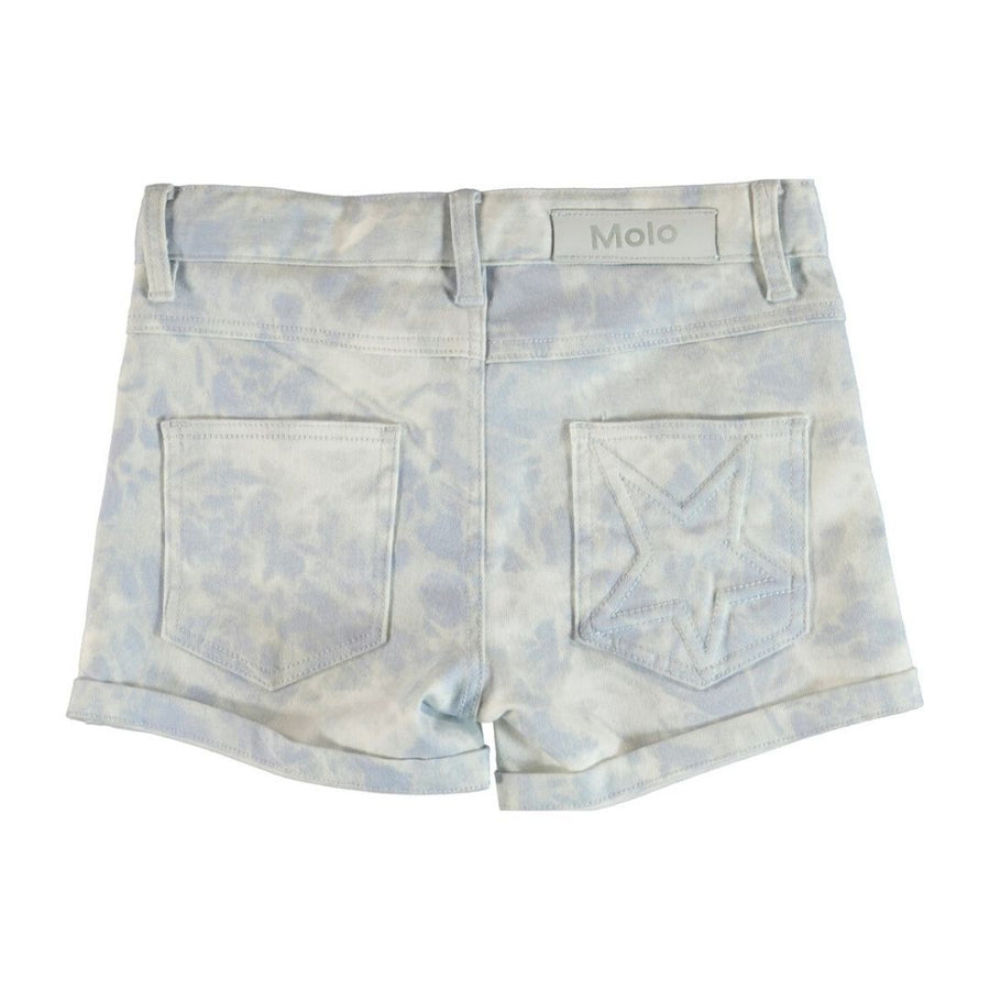 Molo - Audrey Sky Bleach Girls Denim Shorts Shorts Molo
