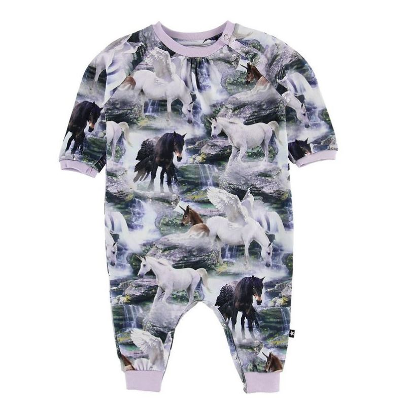 Molo - Francine Mythical Creatures Baby Romper Jumpsuits / Rompers Molo