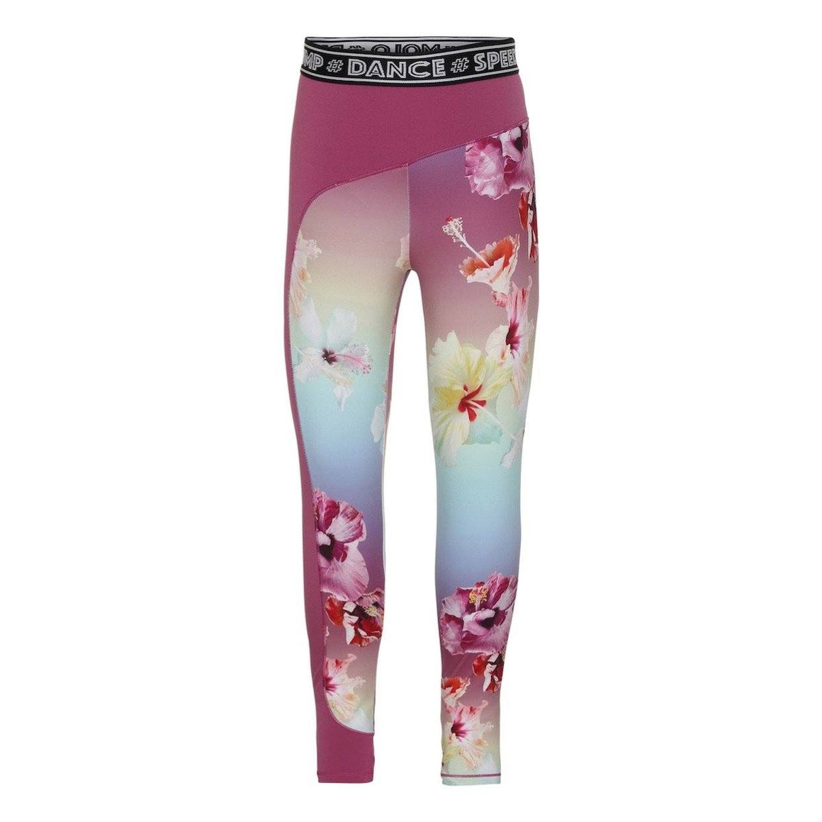 Molo - Olympia - Hibiscus Rainbow Leggings Leggings Molo 15/16 Years (170/176)