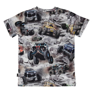 Molo -Ralphie Offroad Buggy Kids T-Shirt Short Sleeve Shirts Molo
