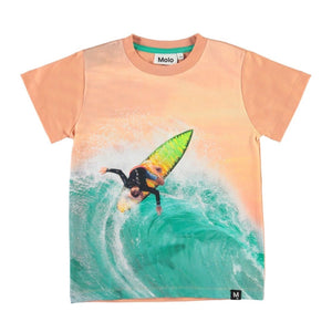 Molo - Raymont - Surf Away Kids T-Shirt Short Sleeve Shirts Molo