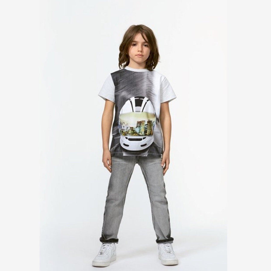 Molo -Road - MC Helmut Kids T-Shirt Short Sleeve Shirts Molo 2 Years (92)