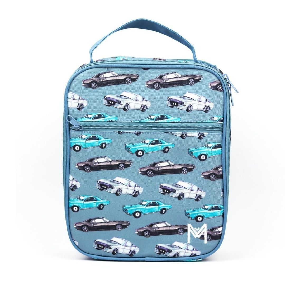 Montiico Insulated Lunch Bag - Cars Lunch Box Montiico