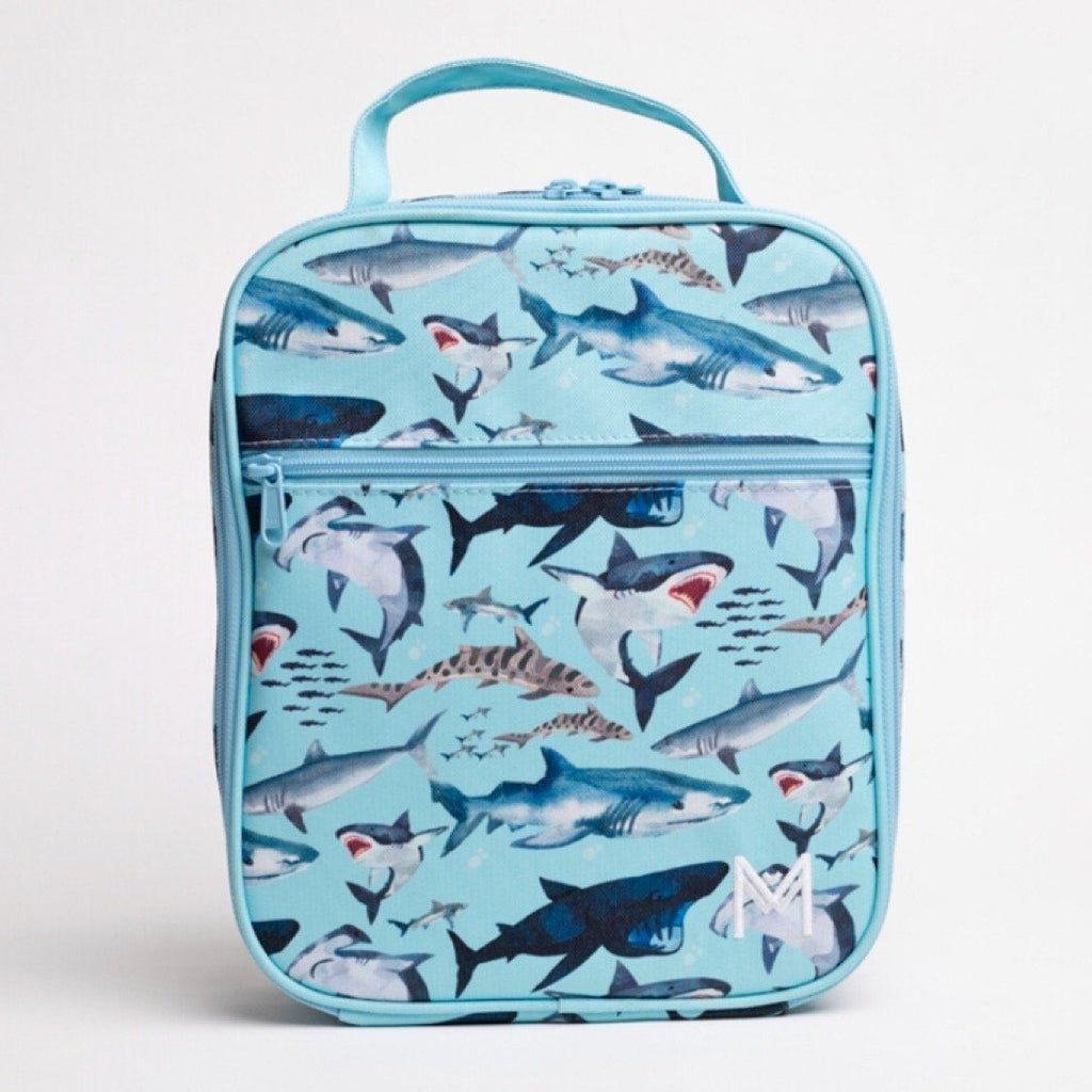 Montiico Insulated Lunch Bag - Sharks Lunch Box Montiico