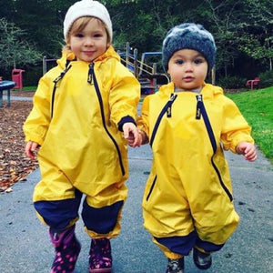 Muddy Buddy Rain Suit - Yellow Rain Suit Tuffo