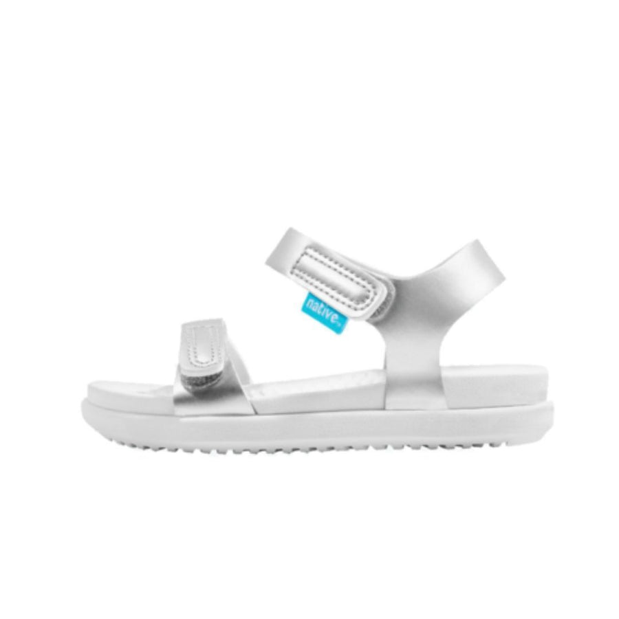 Native Charley Sandals - Silver / Shell White Sandals Native