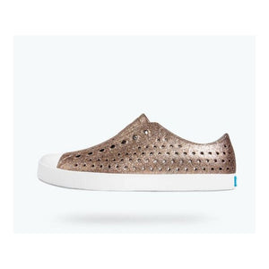 Native - Jefferson Metal Bling / Shell White Adult Shoes Footwear Native