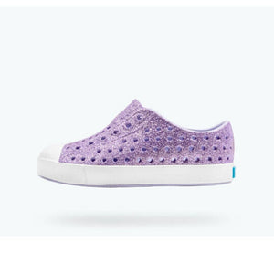 Native - Jefferson Powder Bling / Shell White Kids Shoes Footwear Native