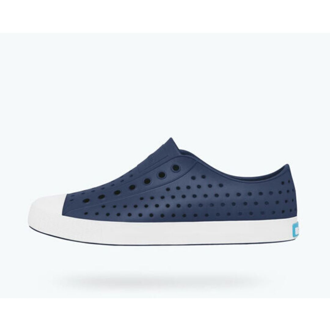 Native - Jefferson Regatta Blue / Shell White Adult Shoes footwear Native