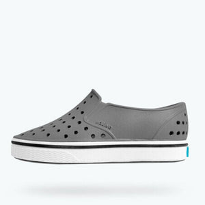 Native - Miles Dublin Grey / Shell White Kids Shoes Footwear Native