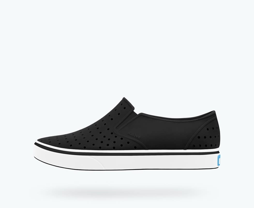 Native - Miles Jiffy Black / Shell White Kids Shoes footwear Native 4